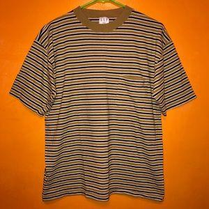 Vintage GAP Striped Short Sleeve T Shirt